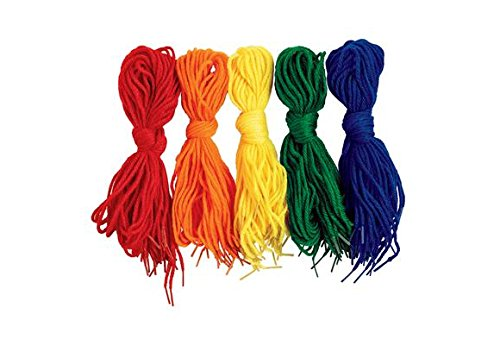 Colorations YARNTIP Tipped Lacing Yarn (Pack of 100) by Colorations