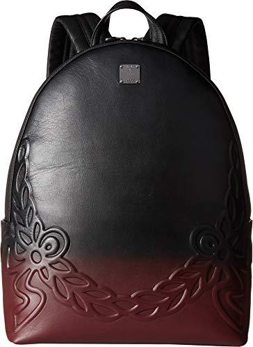 MCM Mens Dietrich Degrade Laurel Backpack Medium Rustic Brown One Size