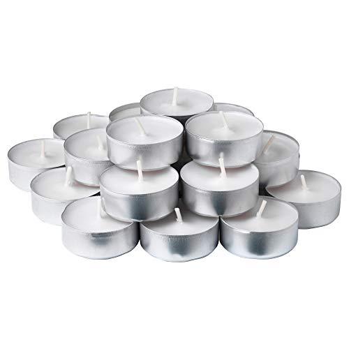 Ikea SMATREVLIG Vanilla & Sea Salt Scented Tealight Candles - 24 Pack