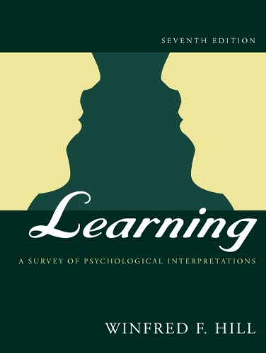 Learning: A Survey of Psychological Interpretations (7th Edition)