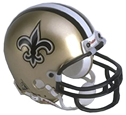Image Unavailable. Image not available for. Color  New Orleans Saints  Replica Riddell Mini Helmet 26509c670