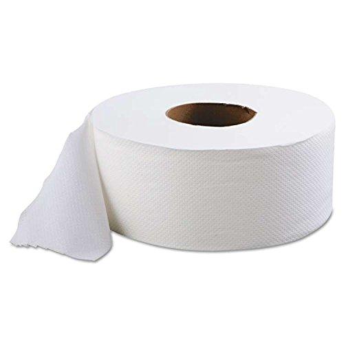 SOFIDEL AMERICA ジャンボロール ティッシュ 2層 9インチ ホワイト 525フィート (12個入りケース) 410839 B073DNMKQW