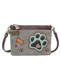 Chala Mini Crossbody Handbag, Pu Leather, Small Shoulder Purse Adjustable Strap
