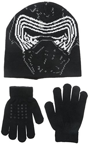 Star Wars Big Boys' Movie Episode 7 Kylo Ren Laplander and Glove Set, Multi, One Size (Star Wars Boys)