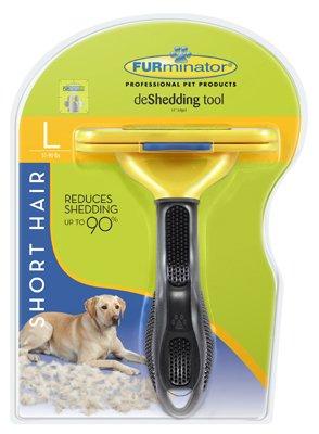 Furminator Short Hair deShedding Tool for Large Dogs, Standard