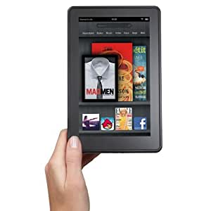 """Kindle Fire, Full Color 7"""" Multi-touch Display, Wi-Fi (Previous Generation - 1st),-R"""