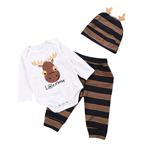 KpopBaby Clothes Sets Newborn Baby Boy Letter Print Long Sleeves Top+Pants+Hat Kid Outfit Sets
