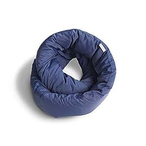 Huzi - Infinity Pillow - Travel Neck Airplane Pillow (Navy)