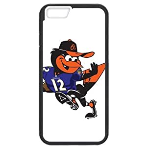 MLB iPhone6 Black Baltimore Orioles cell phone cases&Gift Holiday&Christmas Gifts NBGH6C9124995