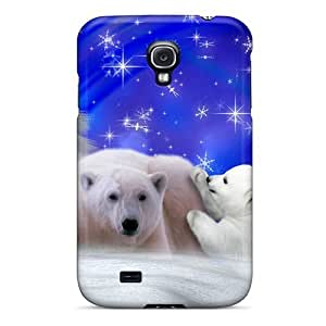 Galaxy Cover Case - Winters Bears Protective Case Compatibel With Galaxy S4