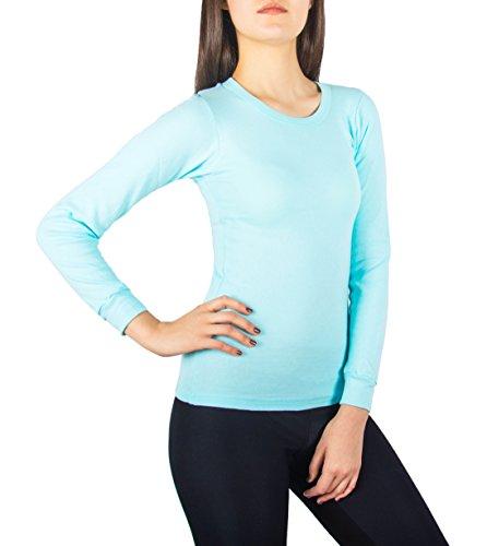 A-Scott-Sexy-Basics-Womens-Long-Sleeve-Fleece-Thermal-Top