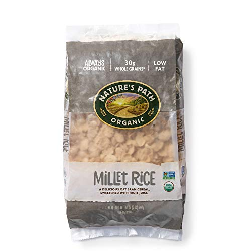 Nature's Path Millet Rice Sweetened with Fruit Juice, Healthy, Organic, Gluten-Free, 32 Ounce Bag (Pack of - Millet Bread