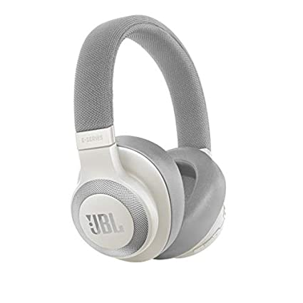 f2d7567b3c0 JBL E65BTNC Wireless Over-Ear Active Noise Cancelling Headphones (White)