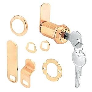Prime-Line Products U 9953 Cam Lock, 1-3/8″, Brass