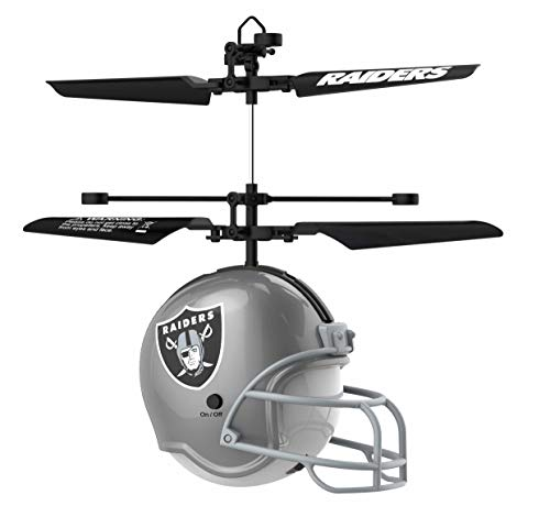 Officially Licensed NFL Remote Control Helmet Flyer Oakland Raiders