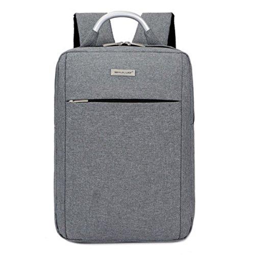 BULAGE Bag Geschäft Laptop Computer Schultern Männer Und Frauen Einfach Rucksäcke Studenten Stilvoll Einfach Taschen Outdoor Gray1 WSsO1N1I
