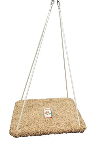 Platform Swing - Special Need Therapy Use - Hand-Crafted from 100% Baltic Birch - Carpeted - 30