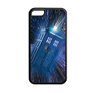 linJUN FENGGeneric Gel Great Back Phone Case For Girls Custom Design With Tardis For Apple ipod touch 5 Choose Design 5