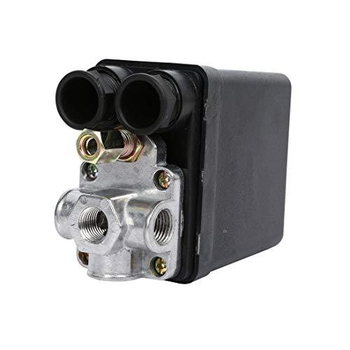 Válvula de ajuste del presostato del Compresor de aire resistente 90 Psi -120 Psi: Amazon.es: Bricolaje y herramientas