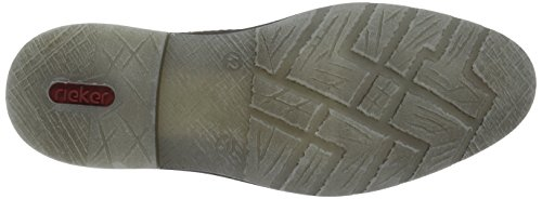 Rieker B3839, Polacchine Uomo Marrone (Wood/Navy / 24)