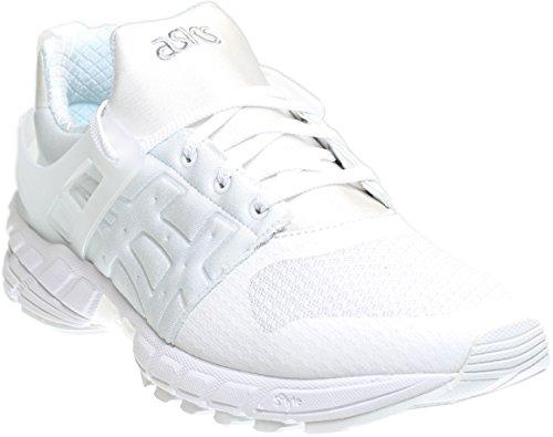 ASICS GT DS Retro Running Shoe, White/White, 12 M US (Shoes Running Mens White)