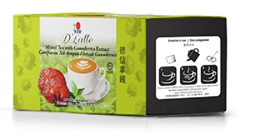 MUST BUY ! 15 Box DXN Lingzhi Tea Latte with Ganoderma Extract ( Total : 180 sachets X 30 g/bag ) by DXN (Image #2)
