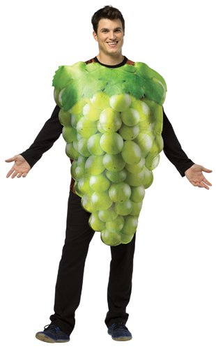 Of Grapes Halloween Bunch Costume (Rasta Imposta Get Real Green Grapes, Green,)