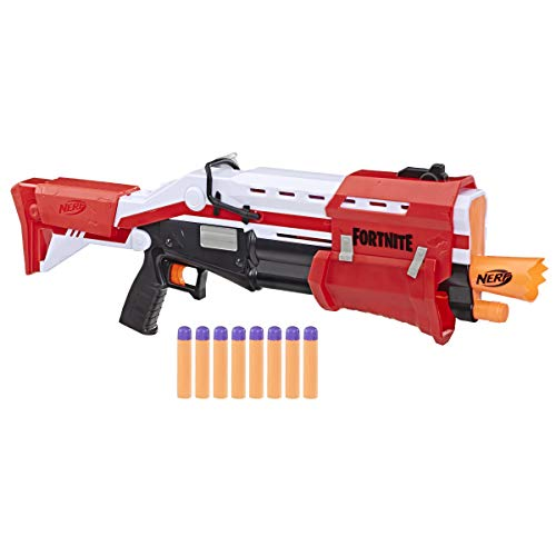 NERF Fortnite TS Blaster - Pump Action MEGA Dart Blaster