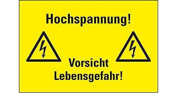 Lemax® combinados de advertencia Cartel de alto voltaje ...
