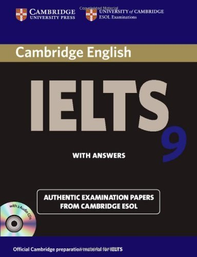 Cambridge Ielts 9 Self-Study Pack (Student's Book with Answers and Audio CDs (2)) China Reprint Edition: Authentic Examination Papers from Cambridge ESOL (IELTS Practice Tests)