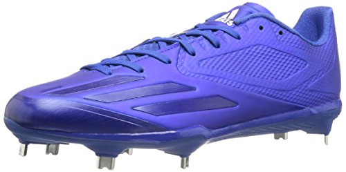 adidas Men's Freak X Carbon Mid Baseball Shoe, Collegiate Royal/White, ((10 M US)