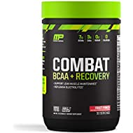 MusclePharm Combat BCAA + Recovery, BCAA 10 Grams, Electrolytes, Post-Workout Recovery, BCAA Post-Workout Powder, Enhanced Recovery, Pre-Workout Formula, Fruit Punch, 1.99-Pounds, 30 Servings