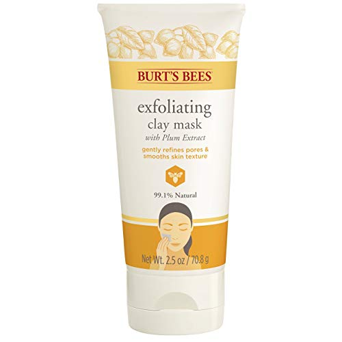 Burt's Bees Exfoliating Clay Mask for Unisex, 2.5...
