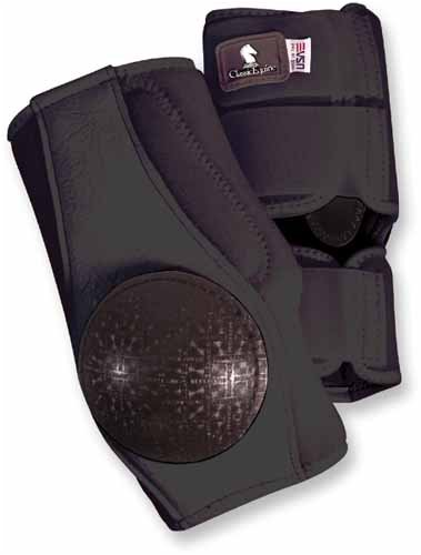 Classic Equine Neoprene Skid Boot Black by Classic Equine