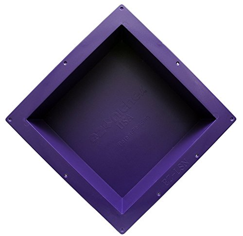 EZ-NICHES - USA - EZLSN - 14in x 14in - Recessed Tile Ready Wall Shampoo Soap Niche