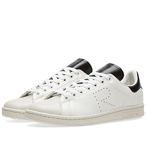 Sneakers Adidas Di Raf Simons Stan Smith In Pelle Bianca E Nera