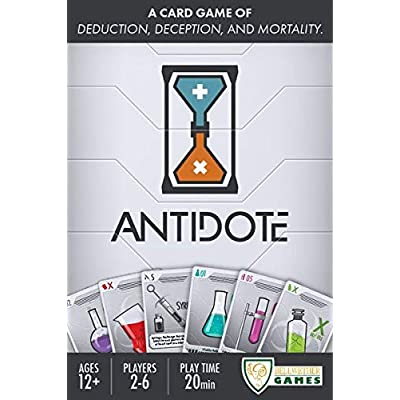 Bellwether Games Antidote Card Game: Toys & Games
