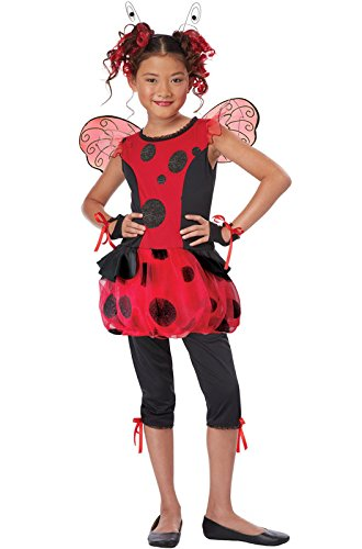 [California Costumes Cute As a Bug Child Costume, Medium] (Girls Bug Costumes)