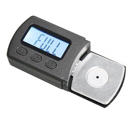 Signstek - Carrete azul retroiluminación LCD Digital LP larga Turntable Stylus Fuerza Escala Gauge Tester: Amazon.es: Instrumentos musicales