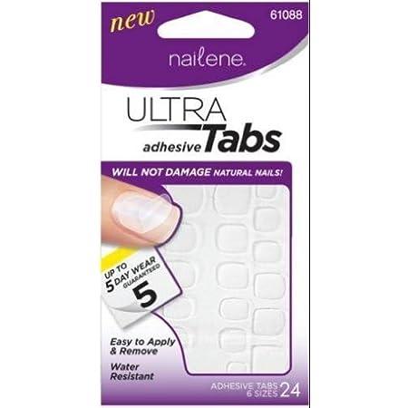 Nailene Ultra Adhesive Tabs for Short Nails