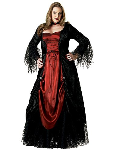 Gothic Vampiress Costume - Plus Size 2X - Dress Size 20-22