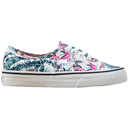 Vans Women Authentic – Tropical (multi / white) Size 5 US