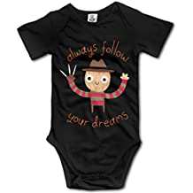 Infant Baby Always Follow Your Dreams Cute Funny Babysuit Onesie