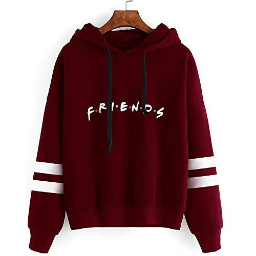 WANCHDP Mode Casual Friend Hoodie Sweatshirt Vriend TV Show Merchandise Vrouwen Grafisch Hoodies Trui Funny Hooded…