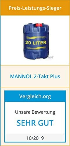 Mannol Mn7204 4 Motorenöl Plus 2 Takt Plus Api Tc 4 Liter Auto