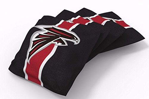 PROLINE 6x6 NFL Atlanta Falcons Cornhole Bean Bags - Stripe Design (A)