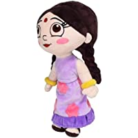 Chhota Bheem Chutki Plush Toy, Purple/Yellow (33cm)