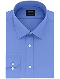 Men's Dress Shirt Poplin Regular Fit Spread Collar
