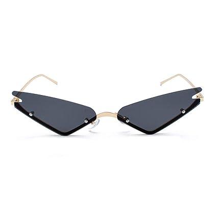 7160ed79bc Hunpta@ - Gafas de Sol Planas con Montura de Estilo Retro, Elegantes, para