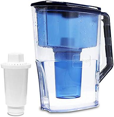 AlkaDrops Jarra de Agua alcalina Instantánea, purificador de Agua ...